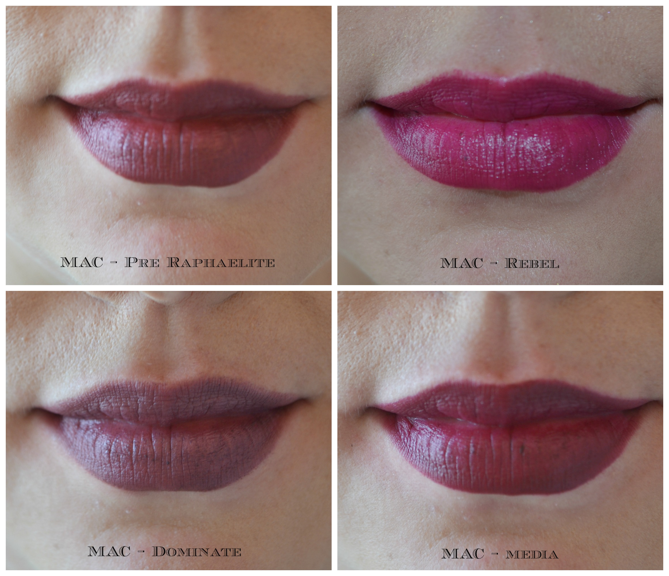 Très Elements of Delight: Vampy Lipsticks | Elements of Fakery - A  XX72