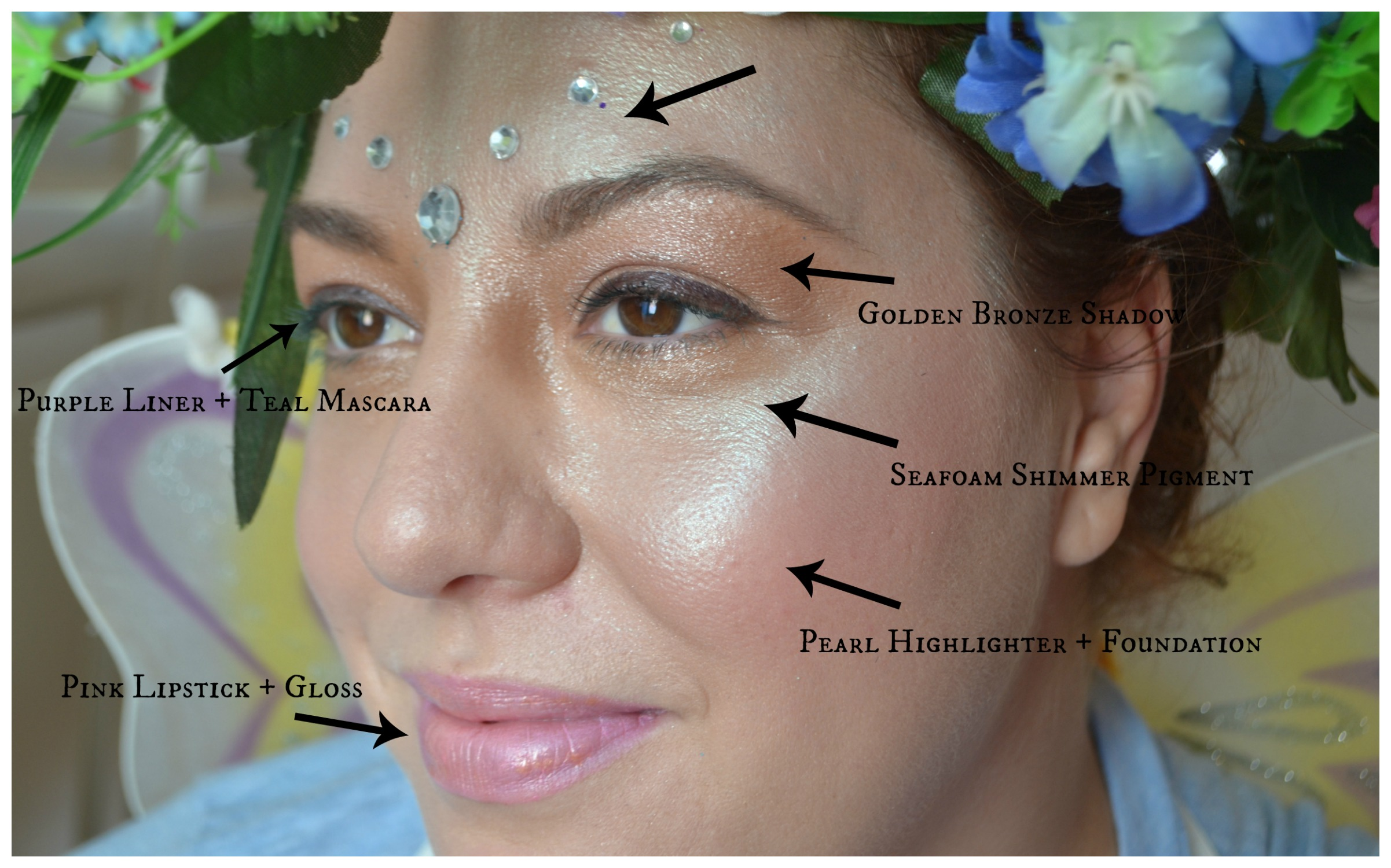 Elements of Fun: Fairy Halloween Makeup | Elements of Fakery - A ...