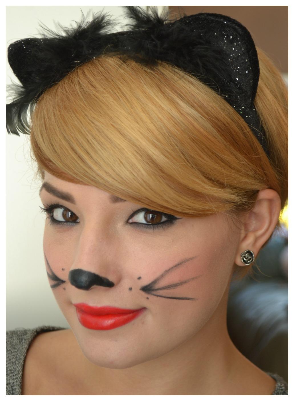 Elements of Fun: Easy Cat Halloween Makeup Elements of - Cool Easy Makeup